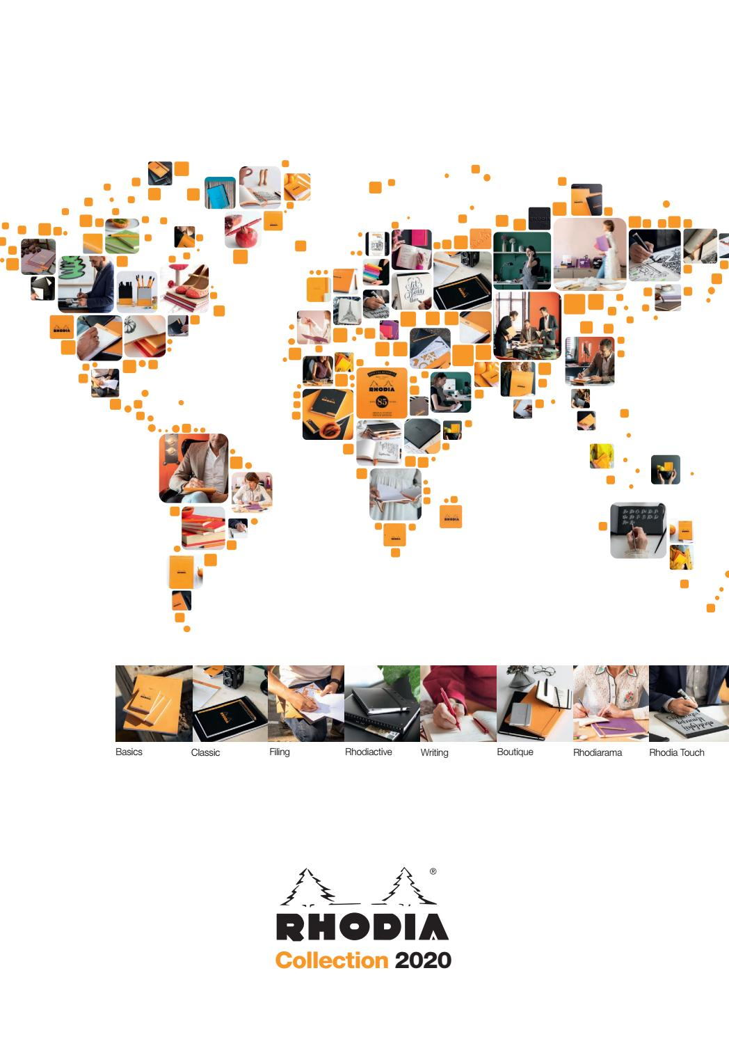 Rhodia 2020 Catalogue By Exaclair Limited Issuu