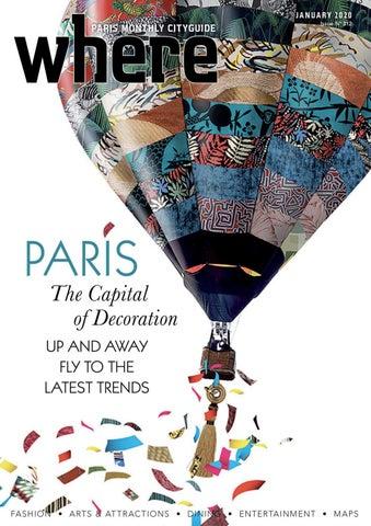 Where Magazine Paris Jan 2020 By Morris Media Network Issuu