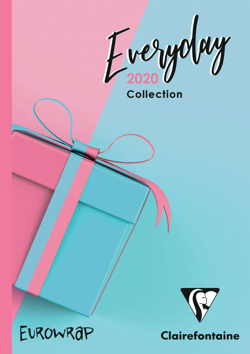 Gros Rouleau Papier Cadeau clairefontaine everyday gift wrap catalogueexaclair