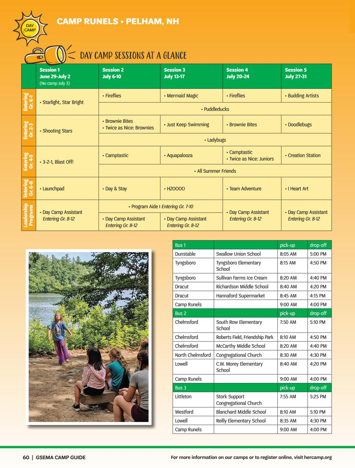 Girl Scouts Host Open House at Camp Runels | Chelmsford