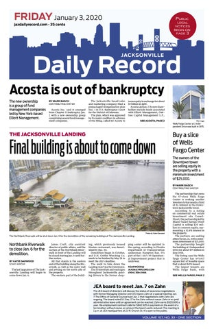 Jacksonville Daily Record 1319 By Daily Record Observer