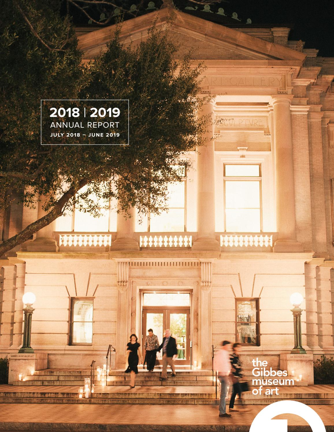 Gibbes Museum Of Art Annual Report 2019 By Gibbes Museum Of Art Issuu