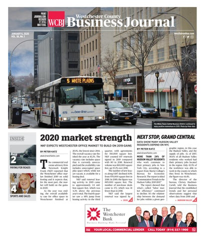Westchester County Business Journal 010620 By Wag Magazine Issuu