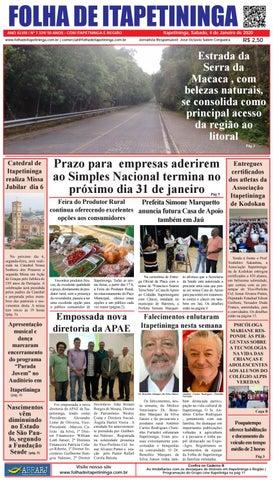 Folha de Itapetininga 04/01/2020 (Sabado)