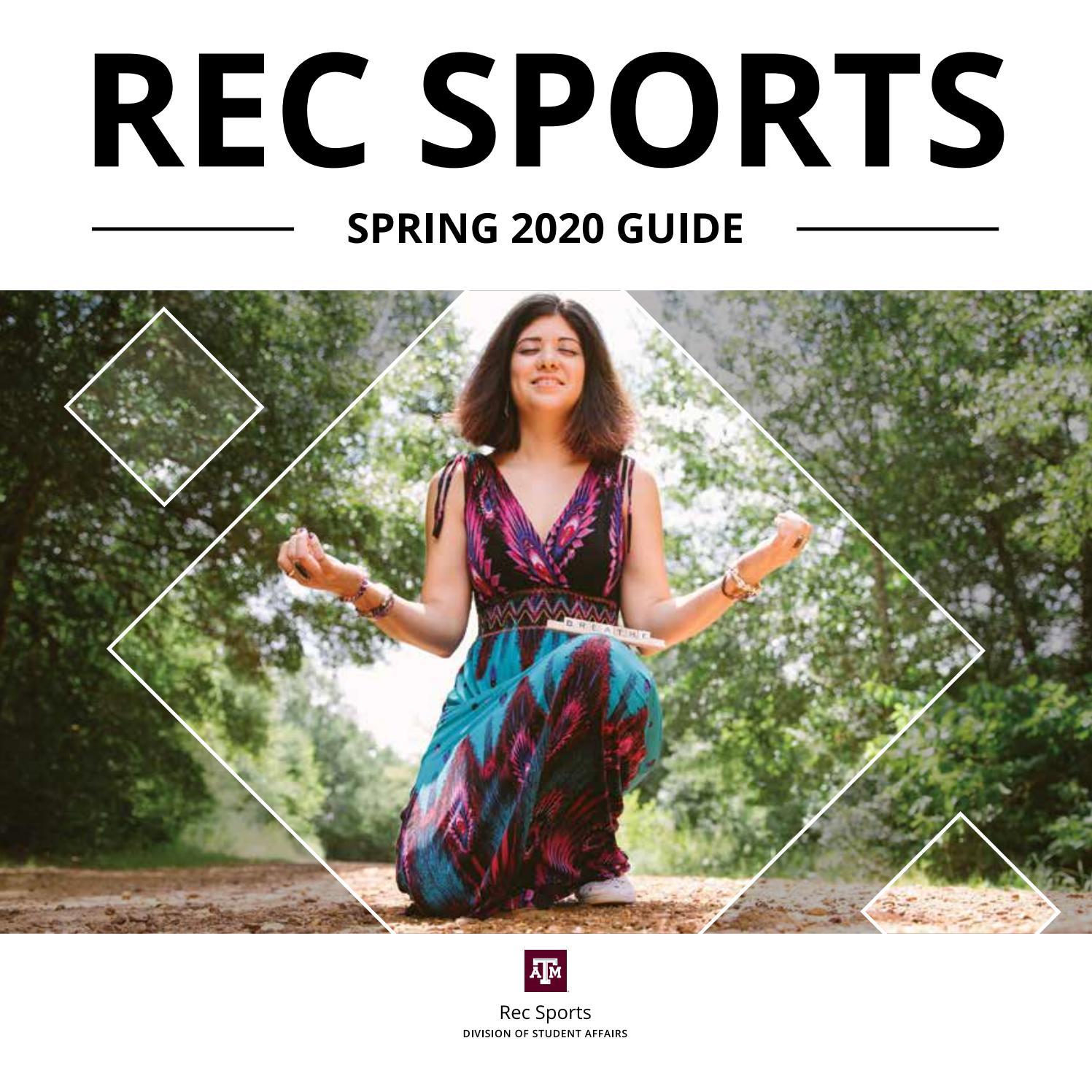 tamu spring break 2020