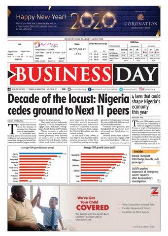 BusinessDay 06 Jan 2020 by BusinessDay issuu
