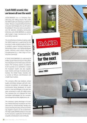 Page 28 of RAKO - Ceramic tiles for the next generations