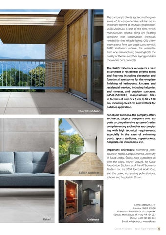 Page 29 of RAKO - Ceramic tiles for the next generations