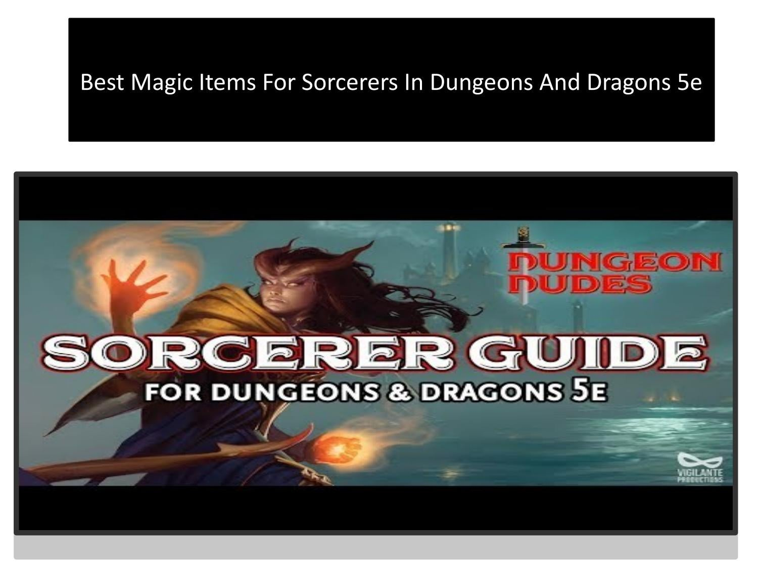 Best Magic Items For Sorcerers In Dungeons And Dragons 5e By Eva Winget Issuu I'd move the pearl of power to rhest so it can serve as a clue pointing to the fane. best magic items for sorcerers in