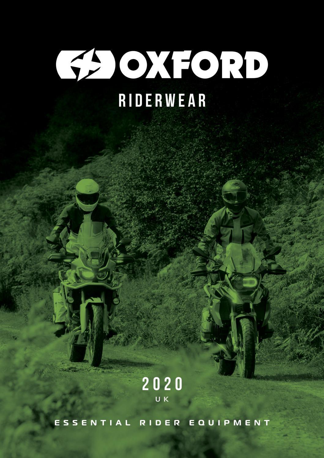 NEW Oxford RP-6S Short Summer Leather Motorcycle Gloves