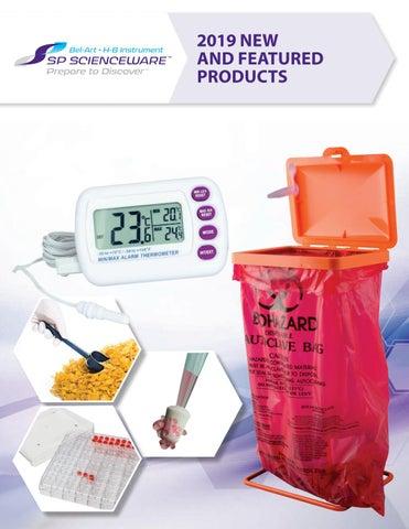 Pack of 12 Non-Sterile Plastic F37840-0000 9 in Bel-Art Sampling Spatula; V Shaped