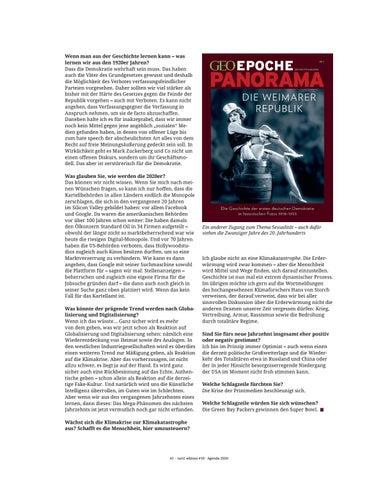 Page 41 of Der Tanz auf dem Vulkan ist weniger grausam als der Ausbruch