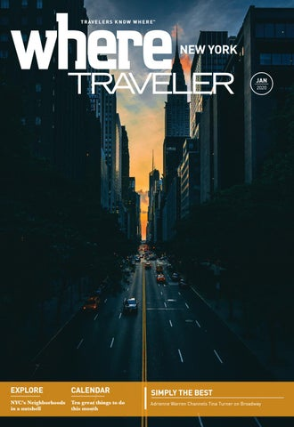 Where Magazine New York Jan 2020 by Morris Media Network issuu
