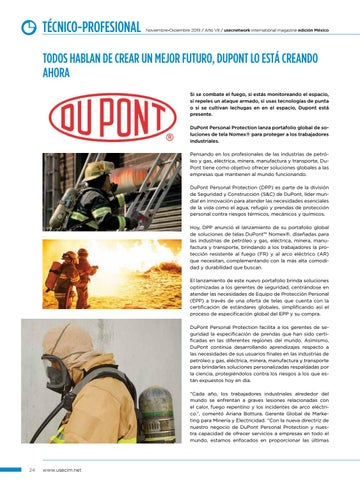 Page 26 of USEC No. 38: DuPont Personal Protection