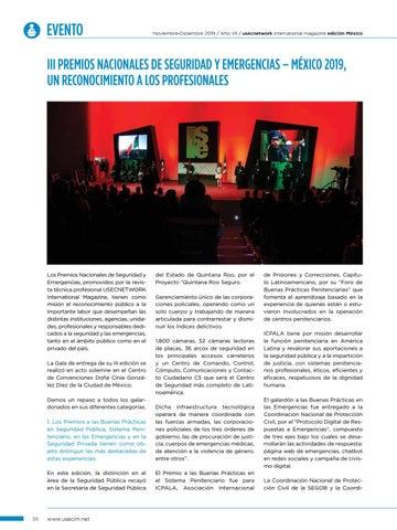 Page 38 of USEC No. 38: III Premios Nacionales de Seguridad y Emergencias