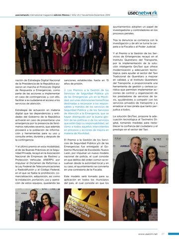 Page 39 of USEC No. 38: III Premios Nacionales de Seguridad y Emergencias