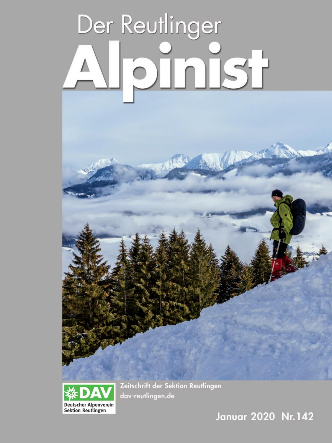 Der Reutlinger Alpinist Nr 142 By Dav Reutlingen Issuu