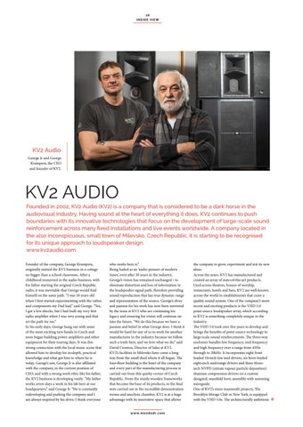 Page 16 of KV2 Audio - Innovative technologies and sound reinforcement