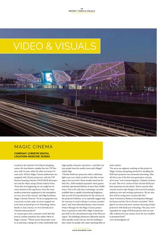 Page 24 of Video & Visuals: Magic Cinema