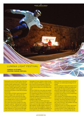 Page 26 of Video & Visuals: Lumina Light Festival