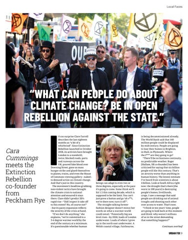Page 9 of Meet the Extinction Rebellion co-founder from Peckham Rye