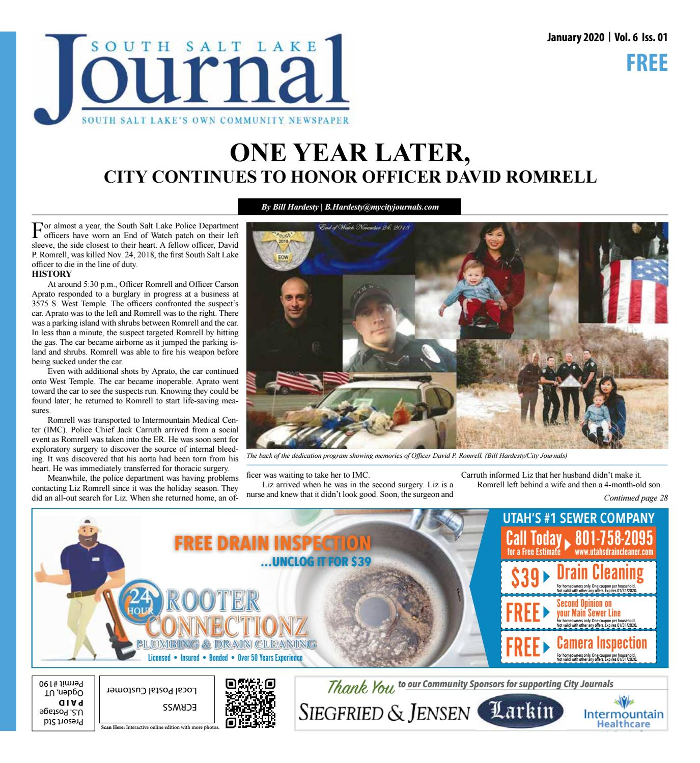 South Salt Lake City Journal January 2020 By The City Journals Issuu