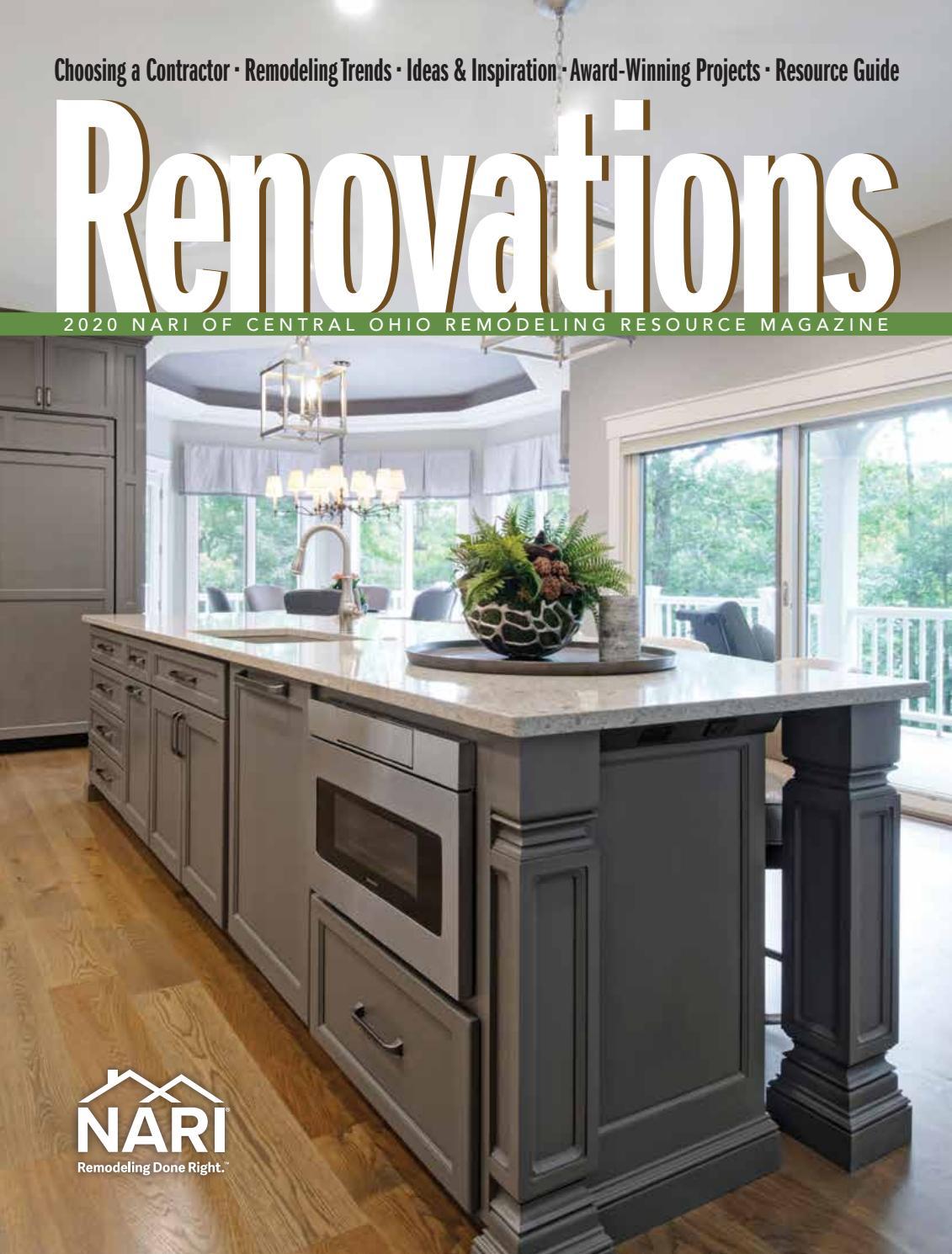 2020 Nari Of Central Ohio Remodeling Resource Magazine By Cityscene Media Group Issuu