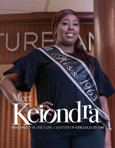 Page 9 of Meet KEIONDRA MISS 1963 FOR THE FAMU CHAPTER OF COLLEGIATE 100