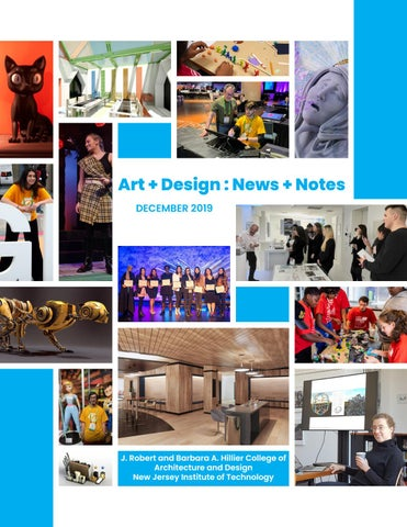 School Of Art Design Newsletter By Njit Issuu