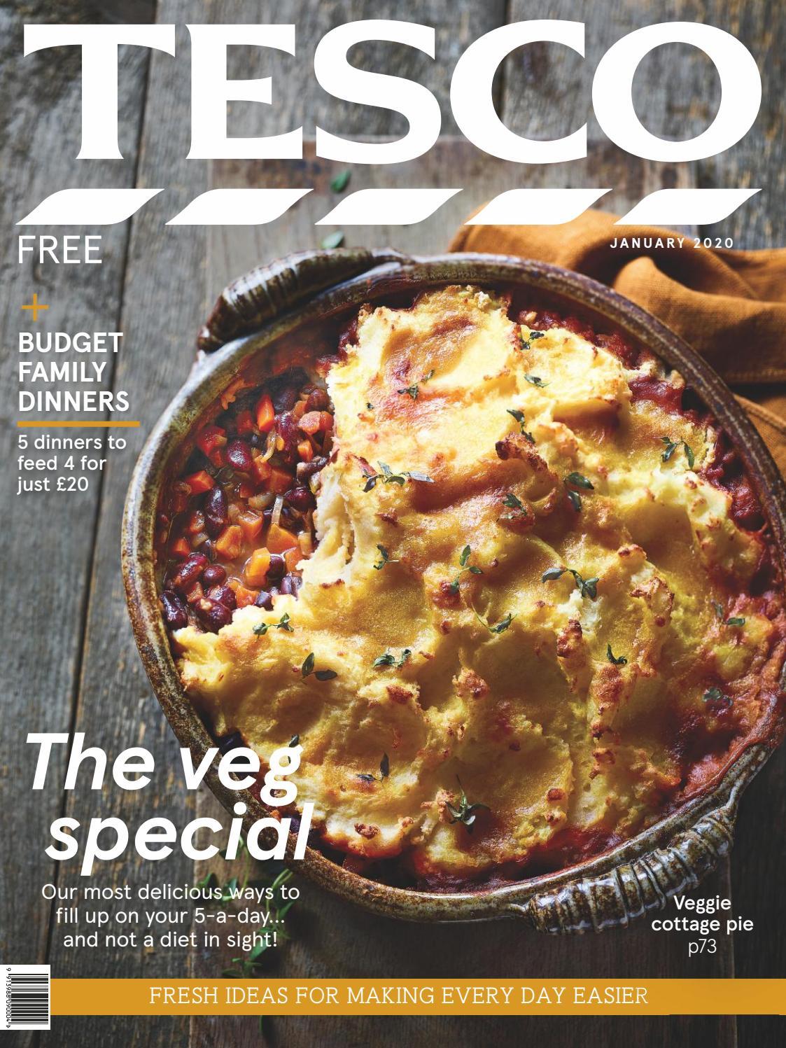 Tesco Magazine January 2020 By Tesco Magazine Issuu