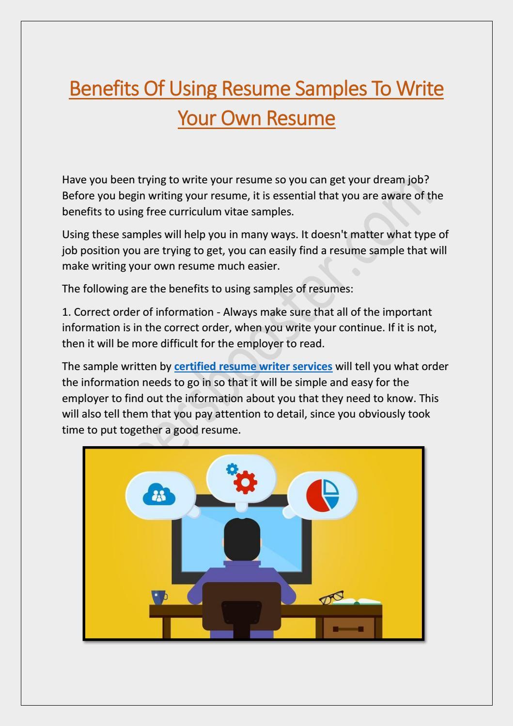 Professional Resume Builder Online By Careersboosters1 Issuu