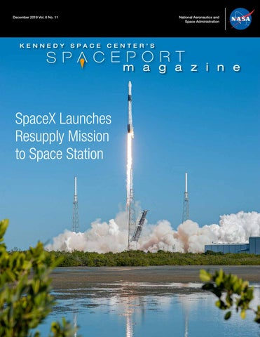 NASA KSC Spaceport Magazine December, 2019