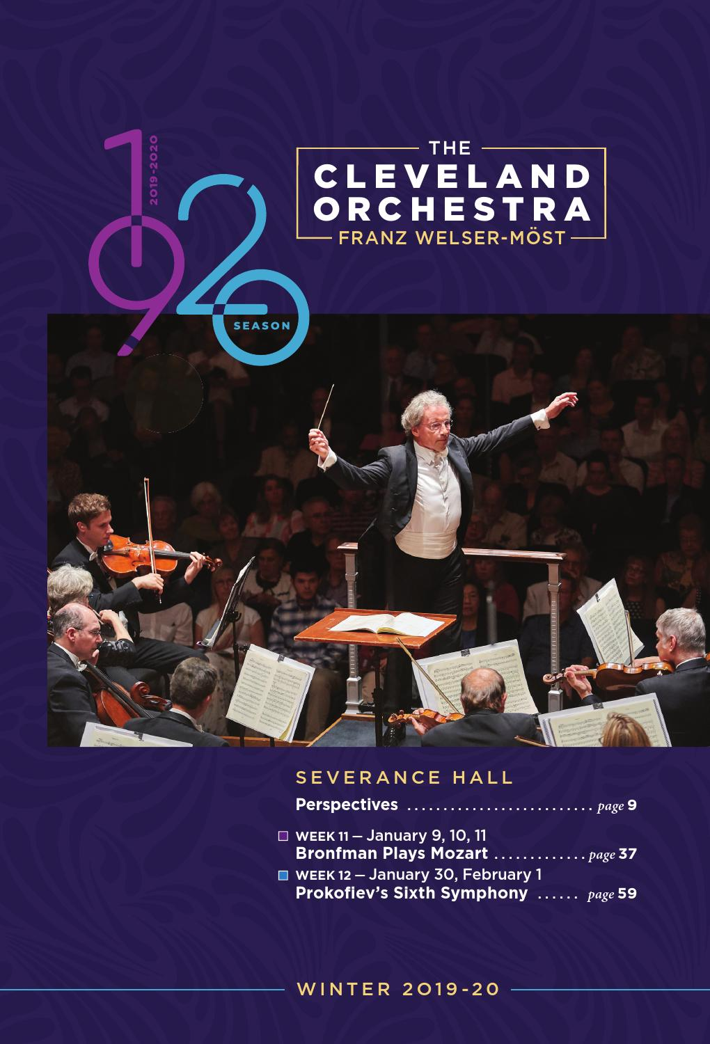 The Name If The Orchestra On Cma Christmas 2020 The Cleveland Orchestra January 9 11, 30, February 1 Concerts by