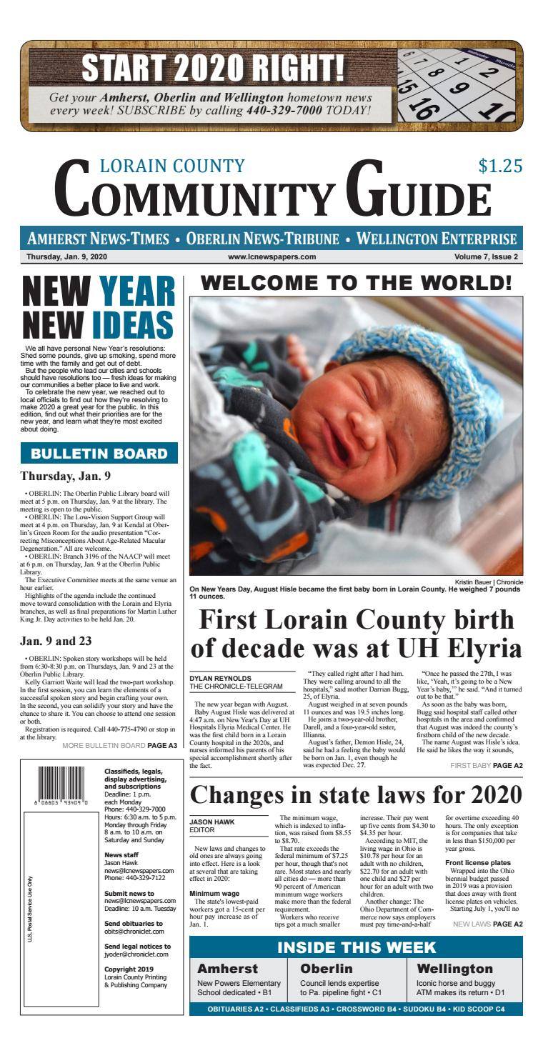 Lorain County Community Guide Jan 9 2020 By Lorain County Printing And Publishing Issuu