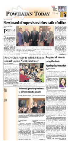 Powhatan Today 01 08 2020 By Powhatan Today Issuu