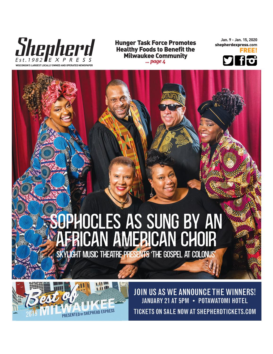 Gospel Choir Christmas Concerts Milwuakee 2020 Print Edition: Jan. 9, 2020 by Shepherd Express   issuu