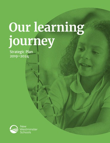 Page 1 of Our learning journey