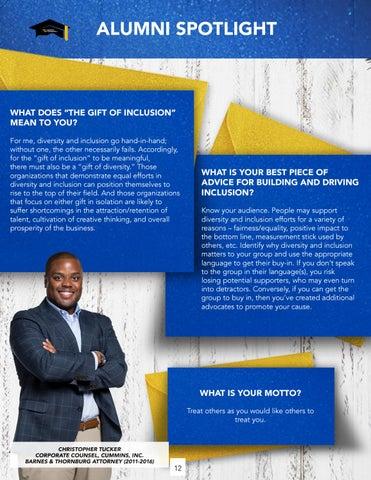 Page 12 of Alumni Spotlight