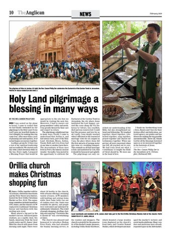 Page 10 of Holy Land pilgrimage a blessing in many ways