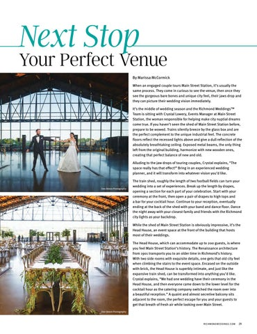 Page 31 of Next Stop Your Perfect Venue