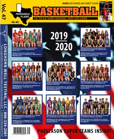 Panhandle Plains Basketball Magazine 2019 20 by ppb.haynes