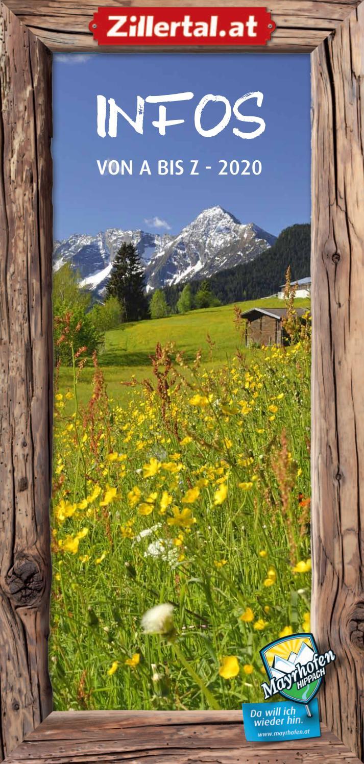 Info von A Z 2020 by Ferienregion Mayrhofen Hippach issuu