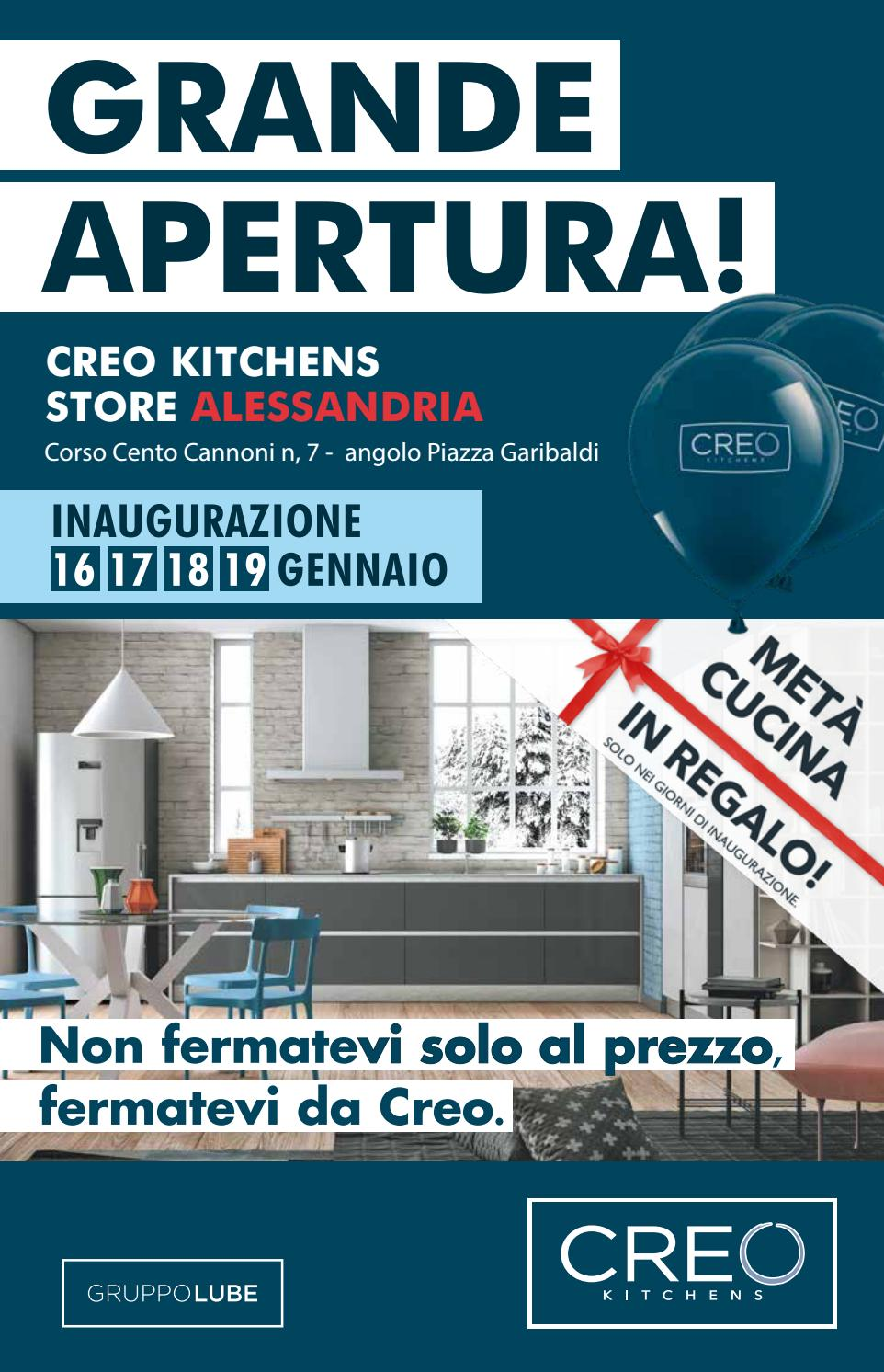 Cucina Kyra Creo Prezzo apertura creo store alessandria by cucinarredi - issuu