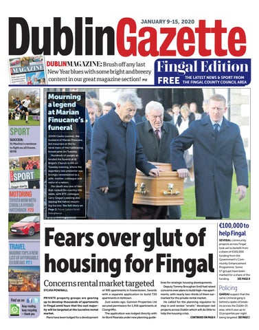 Weekly Planning Alert issued by Fingal County Council