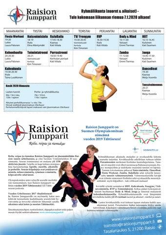 Raision Jumpparien juhlanäytöksissä oli reilua, reipasta ja riemukasta menoa