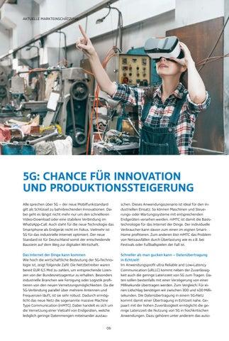 Page 6 of 5G: CHANCE FÜR INNOVATION UND PRODUKTIONSSTEIGERUNG