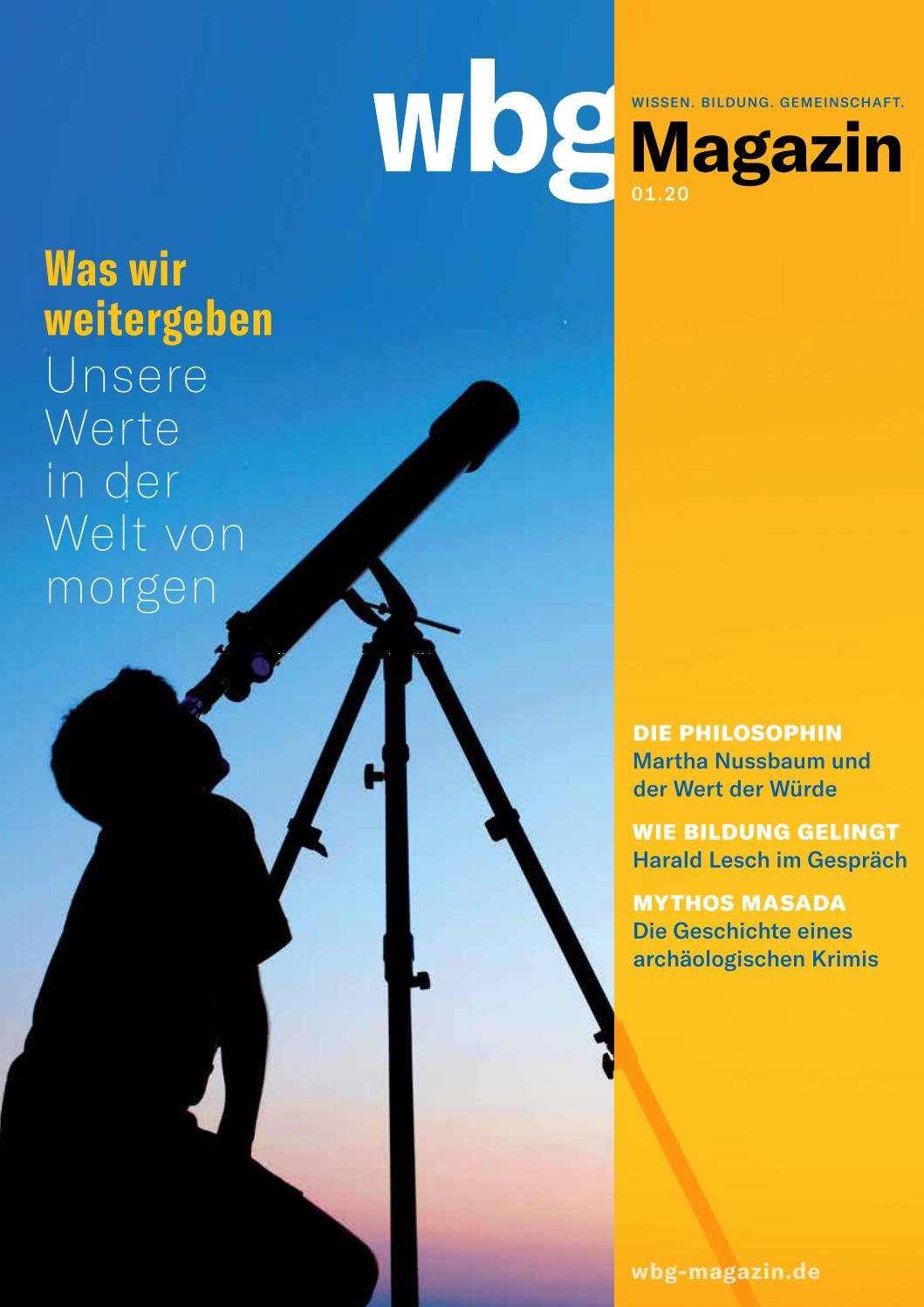 Wbg Magazin 01 20 By Wbg Wissen Bildung Gemeinschaft Issuu