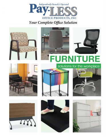 2020 Furniture Solutions by Pay LESS Office Products issuu