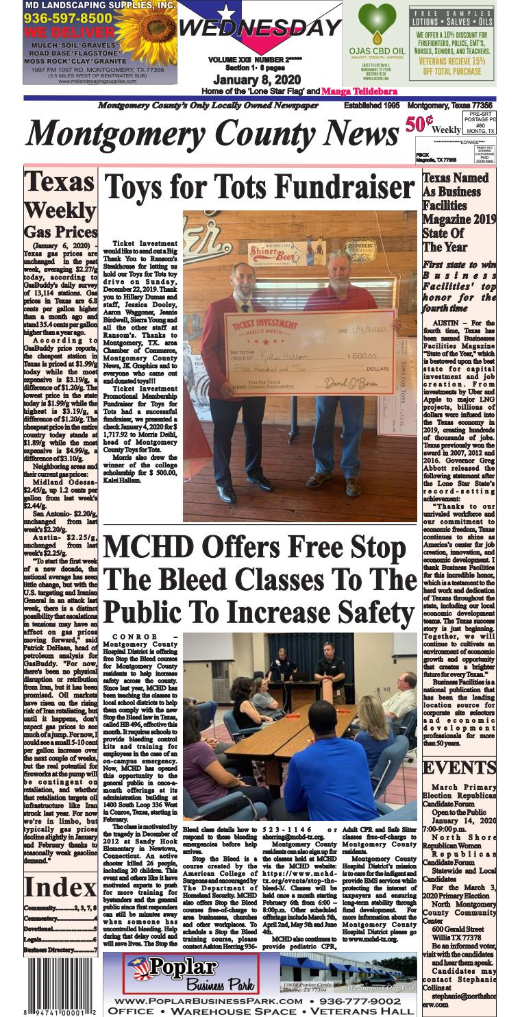 Montgomery County News by Monte West   issuu