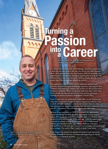 Page 12 of Turning a Passion into a Career